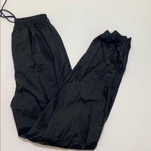 Nike black pants size M(kids)